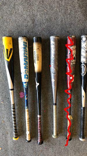 Used baseball bats for Sale in San Jose, CA