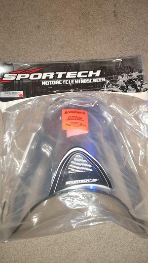 Sportech Gsxr600 Motorcycle windscreen for Sale in San Antonio, TX