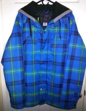 Burton hackett snowboard jacket Large for Sale in Beaumont, CA