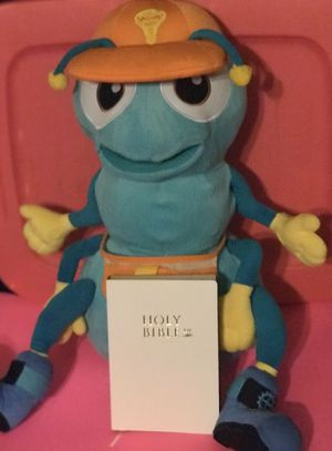 Vacation Bible School Ant Puppet Large 28x21 Holy Bible 7.5x 5.5 New! for Sale in Savannah, GA