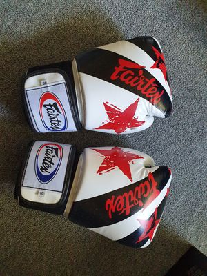Fairtex boxing glove for Sale in West Haven, CT
