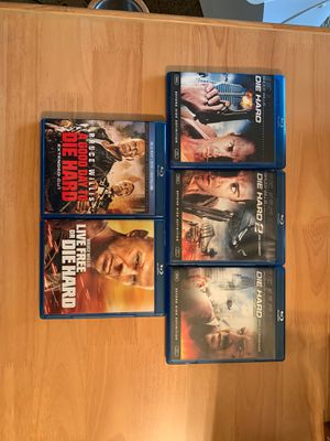 Lot of 5 Die Hard Blu-ray Discs for Sale in Elk Grove Village, IL