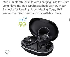 Sport wireless Bluetooth earbuds new for Sale in Puyallup, WA
