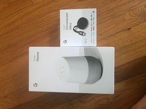 New Google home and chromecast for Sale in Ridgefield Park, NJ