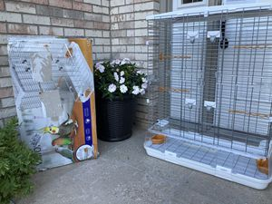 New vision bird. cage for Sale in Downers Grove, IL