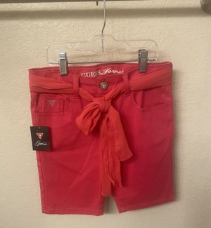 Guess Hot Pink Bermuda Shorts for Sale in Las Vegas, NV