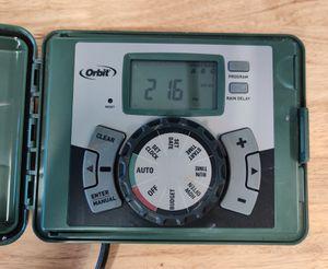 Orbit sprinkler 4 zone controller for Sale in Torrance, CA