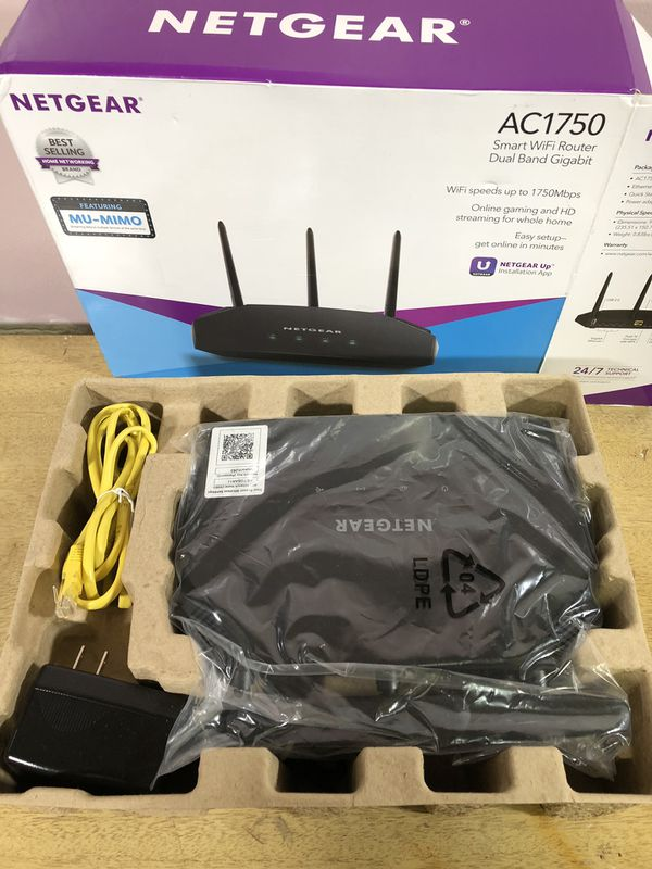 Netgear AC1750 R6350-100NAS wifi router for Sale in Yorktown, VA - OfferUp
