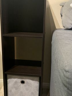 Cube Storage Dark Brown 3' x 1' for Sale in Orange,  CA