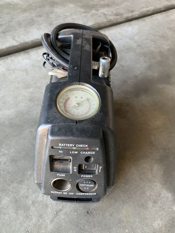 Rechargeable air compressor