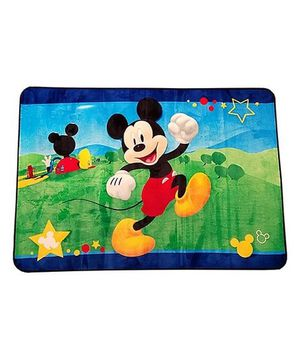 """Large Disney 54"""" x 80"""" Mickey Mouse plush AREA RUG for Sale in Los Angeles, CA"""