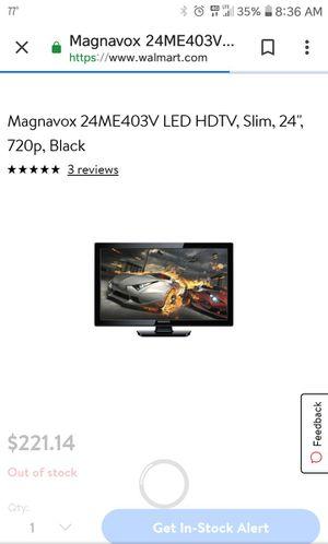 24 inch 720p Slim Magnavox TV for Sale in Taylor, AL