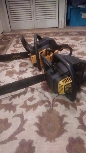 Two chainsaws for Sale in Orlando, FL