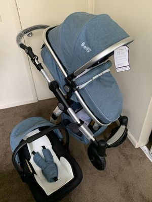 Baby stroller with the car seat for Sale in Los Angeles, CA