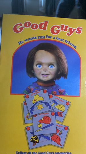 Good guys chucky doll action figure with changeable heads collectors item for Sale in Concord, CA