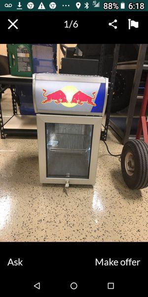 Collectors red bull mini fridge for Sale in Phoenix, AZ