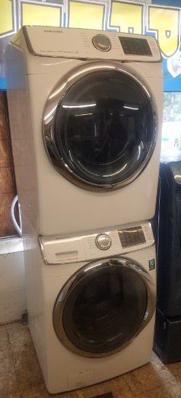 Samsung Front Load Stackable Washer and Electric Dryer Set with Military/Vet Discount, Warranty, and Easy Finance Available! Affordable Appliances! for Sale in Norfolk, VA