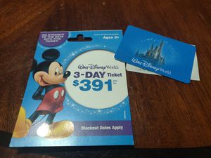 Disney World theme park ticket for 1adult for Sale in Atlanta, GA