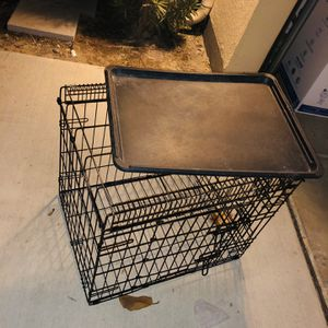 Dog Crate Dog Food Bowl Table GREAT DEAL🚀 for Sale in Hacienda Heights, CA