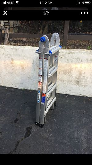 Werner MT-17 Multi Position Ladder 300 lbs capacity for Sale in San Diego, CA