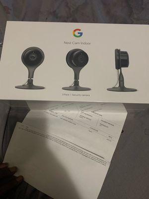 Google nest cam 3 pack for Sale in Binghamton, NY