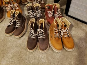 Stusse work boots size 8,91/2 ,10, 10.1/2, -11-11 -1/2, for Sale in Jurupa Valley, CA