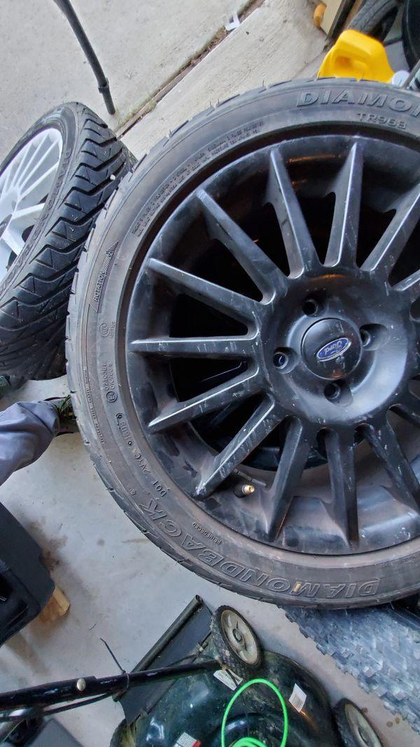 Ford Focus SVT 15 Spoke rims 17x7 (Rare)