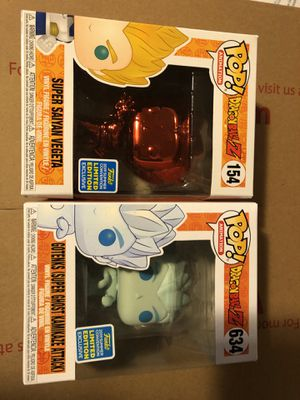 Dragon ball z pops for Sale in Bell, CA