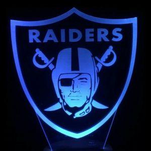 Las Vegas Raiders NFL Logo Light for Sale in Cherry Hill, NJ