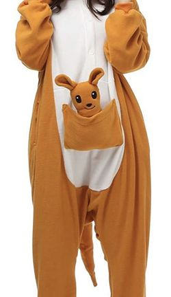 Plush Kangaroo Fleece Onesie PJs/Costume for Sale in Chicago,  IL