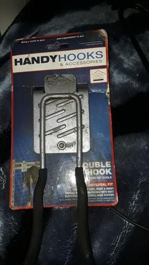 Handy hooks and accesories Double hook for home, heart, and body for Sale in Bakersfield, CA