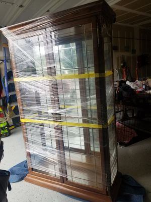 Curio Cabinet solid for Sale in Puyallup, WA