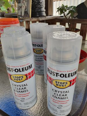 Rest oleum clear for Sale in Port Richey, FL