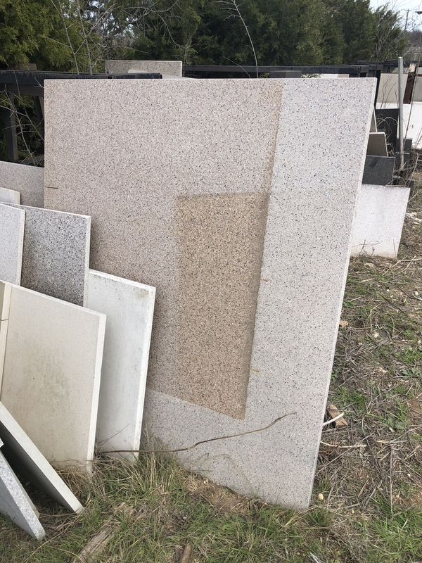 Granite almost full slabs and 1/2 slabs need, out can make anything with the smaller pieces