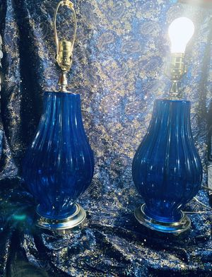 Gorgeous set of lamps for Sale in Grosse Pointe Park, MI