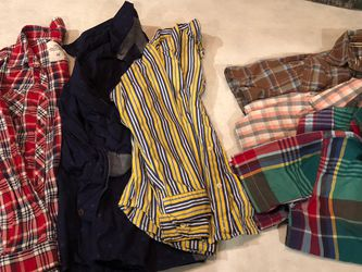 Longsleeve and short sleeve boys Flannel for Sale in Brothers,  OR