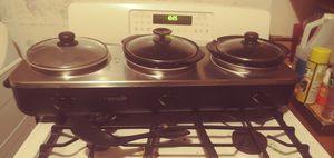 Multi pot crock pot for Sale in Garland, TX