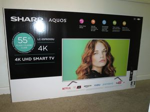"Sharp 55"" 4K Smart TV for Sale in Rowlett, TX"