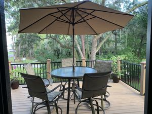 Quality Aluminum Patio Set - When we bought it new it was $2000 for Sale in Orlando, FL