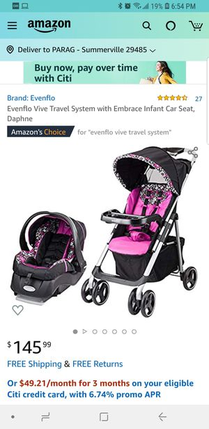 Stroller and car seat for infants for Sale in Summerville, SC