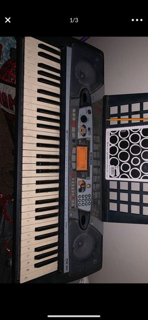 Yamaha keyboard works great. for Sale in Diamond Bar, CA