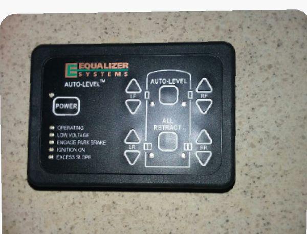 Equalizer systems auto-level keypad #3012