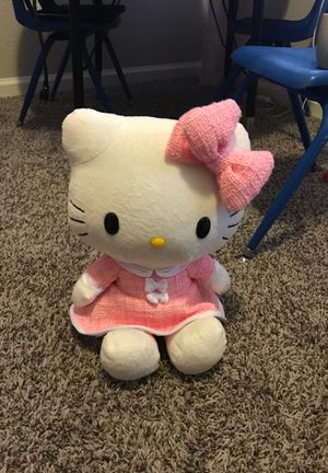 Hello Kitty large stuffed animal!! for Sale in Westminster, CO