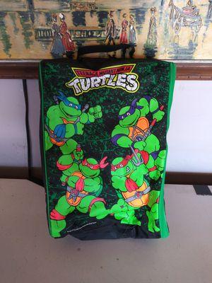 Vintage 1989 Teenage Mutant Ninja Turtles Luggage and Cooler Bag for Sale in Rialto, CA