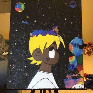 Lil Uzi Vert vs. the World 2 Album Cover Painting for Sale in Zephyrhills, FL