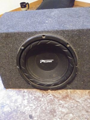 Performance Teknique 12 inch subwoofer 2000 watts for Sale in Wichita, KS