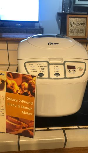 oster bread maker 2lb makes pasta too for Sale in Chino Hills, CA