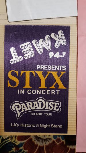 Styx concert ticket for Sale in Wauchula, FL
