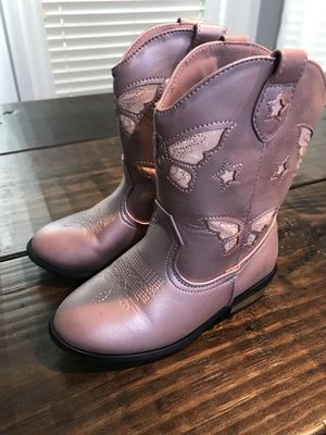 Toddler girl pink boots for Sale in Orange City, FL