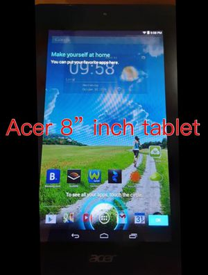 "NEW CONDITION 8""INCH ACER TABLET for Sale in Pomona, CA"